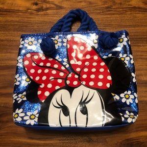 Minnie Mouse Vinyl Tote Bag.